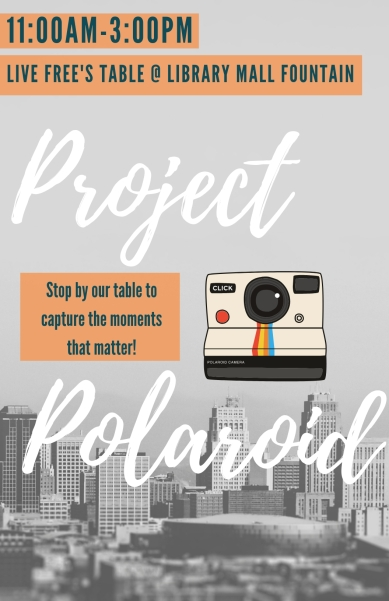 Project Polaroid Flyer